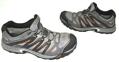 Salomon Mens Size 12 Hiking Shoes Contagrip Gore Tex Advanced Chassis Gray | eBay