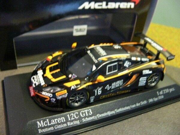 1 43 Minichamps McLaren 12C GT3 24h Spa 2014