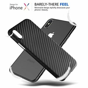 Fuer-Apple-iPhone-X-XR-XS-MAX-CARBON-CASE-Design-Fiber-Huelle-Backcover-Tasche
