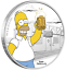 2019-The-Simpsons-Homer-Simpson-Proof-1-1oz-Silver-COIN-NGC-PF-70-ER thumbnail 4