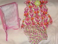 Vera Bradley Baby Dress & Bloomers Billi Bell 100% Cotton 3-6 Months