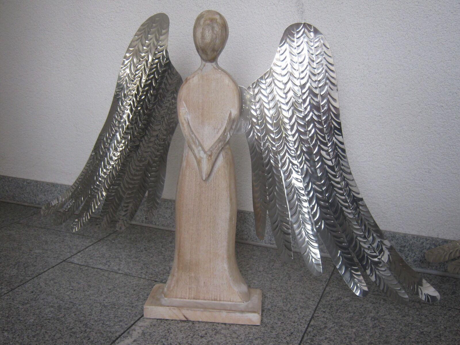 Engel Holz Designer Figur Skulptur Günstig Schnäppchen Dachbodenfund Rarität