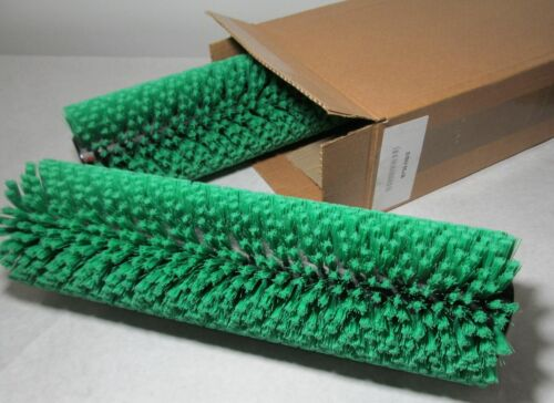 CRB B750-DS2 SET OF 2 GREEN BRUSHES FOR TM4 VLM CARPET// FLOOR CLEANING MACHINE