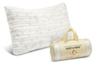 Memory Foam Luxurious Bamboo Gel Pillow by Clara Clark - King & Queen Available