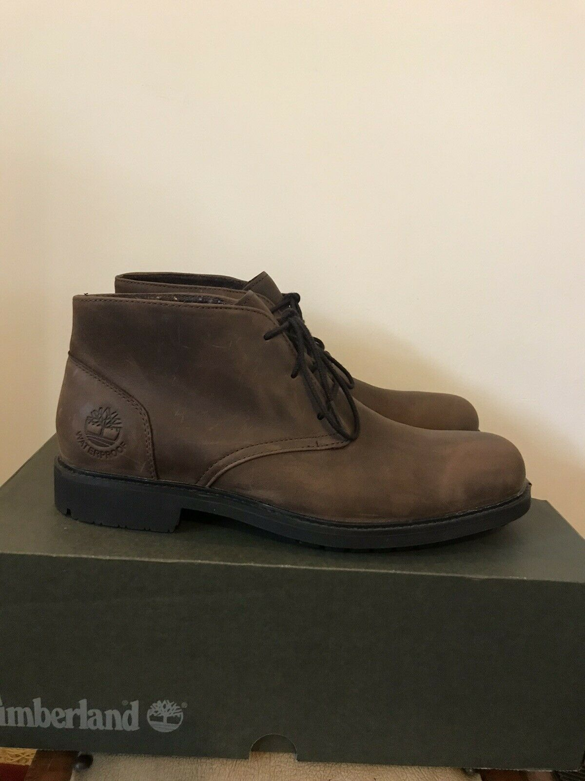 Stormbuck Leather Boots Size UK7