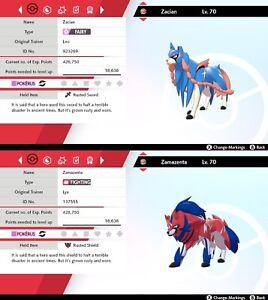 Zacian-Zamazenta-pack-6IV-Good-nature-Pokemon-Sword-Shield