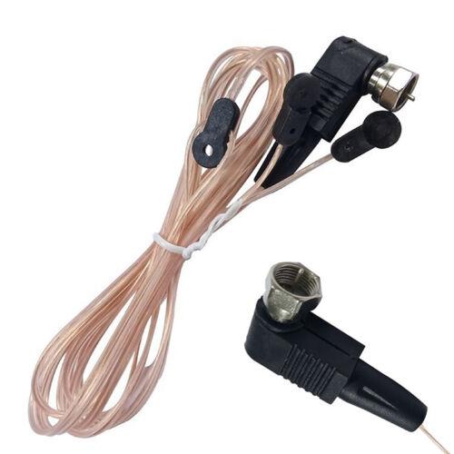 6.5ft Indoor FM Dipole Antenna Radio Receiver Amplifier MD TV Aerial NTSC BP