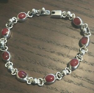 925-Sterling-silver-bracelet-from-Taxco-12-9-g