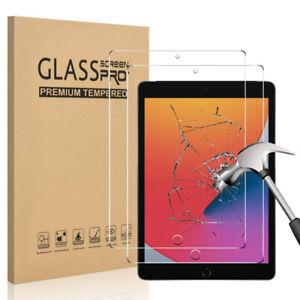 HD Premium TEMPERED GLASS Screen Protector for iPad 8 7 6 5 iPad Mini Air Pro