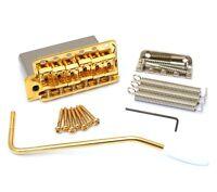 Gold Steel Block 6-point 2-3/16 Vintage Tremolo Kit Fender Strat® Sb-5208-l02