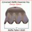 Universal-034-Waffle-Key-034-for-Paper-Towel-amp-Toilet-Tissue-Dispensers-12-pk thumbnail 3