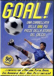 GOAL Le Gag più Pazze della Storia del Calcio DVD Documentario NEW SIGILLATO