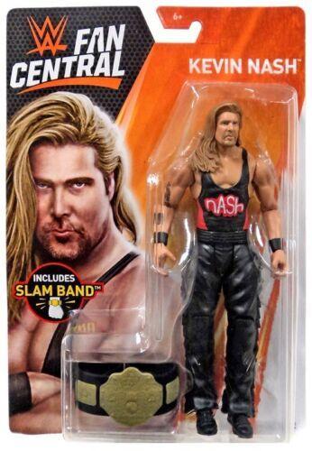 WWE Kevin Nash Figure Fan central Toys R Us exclusive Slam Band Slap Bracelet