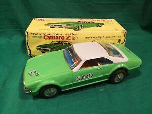 Tin-Toys-Tin-Chevrolet-Camaro-Z28-Made-in-Taiwan-cm-25