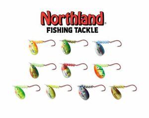 Lot-10-Nouveau-Northland-agres-de-peche-Appats-Spinner-Rigs-Value-Pack