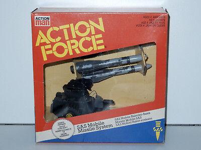 1983 Gi Joe / Action Force Sas Mms Mobile Missile System 100% Complete Mib Boxed Eenvoudig En Eenvoudig Te Hanteren