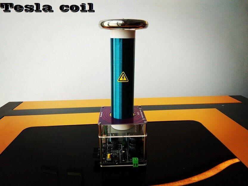 Tesla Coil desktop-level integrated solid-state music Tesla coil finished produc