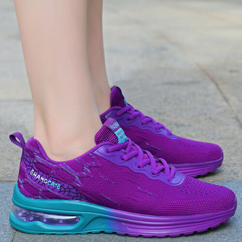 Details about  /Women/'s New Cushion Sneakers Casual Sports Breathable Running Tennis Shoes Gym