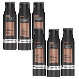 Lynx Copper Bergamot & Sandalwood Shower & Shave Foam 200ml Pack of 6