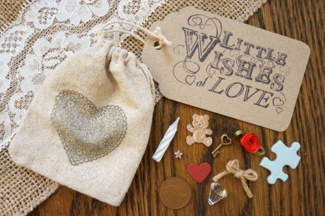 Little Bag of Love - Novelty Keepsake Handmade Gift with Poem, Anniversary