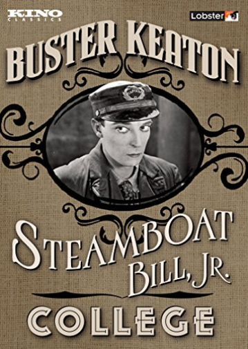 STEAMBOAT BILL JR. / COLLEG...-STEAMBOAT BILL JR. / COLLEGE  (US IMPORT) DVD NEW