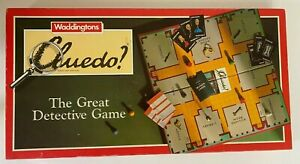 Vintage-1990-Cluedo-The-Great-Detective-Board-Game-By-Waddingtons-VGC