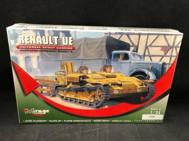 WWII  Scout Tankette Renault UE deutsche Version 1:35 Mirage 355007