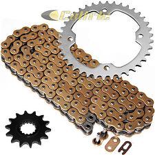 Gold O-Ring Drive Chain & Sprockets Kit Fits YAMAHA RAPTOR 700 YFM700R 2006-2016