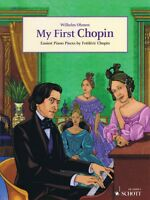 My First Chopin Sheet Music Easiest Piano Pieces English Piano Book 049045374