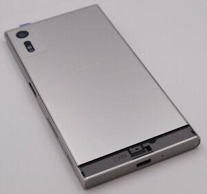 Original-Sony-Xperia-XZ-F8332-Gehaeuse-Akkudeckel-Battery-Cover-Silber-silver