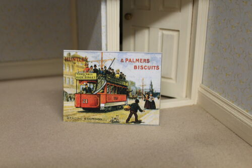 Shop  Metal Sign =  PALMERS BISCUITS DOLLS HOUSE