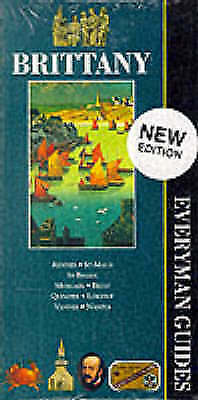Brittany (Everyman Guides) by Everyman, Acceptable Book (Paperback) FREE & Fast