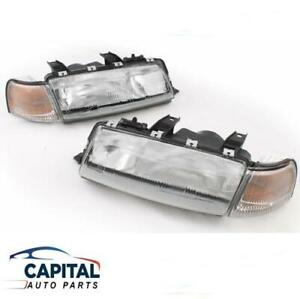 Set of Headlights & Corner Park Indicator Lights Holden Commodore VN 1988-1991