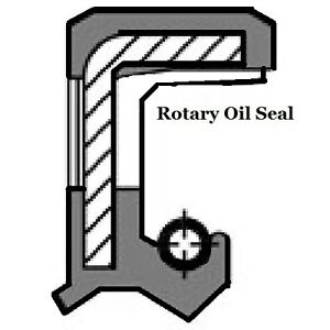 Viton Oil Shaft Seal Double Lip 8 x 22 x 7mm   Price for 1 pc