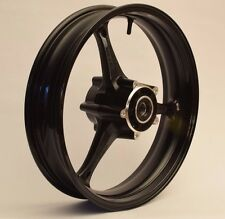 NEW GLOSS BLACK Front Wheel GSXR 600 750 2006-2007 GSXR 1000 2005-2008 Rim GSX-R