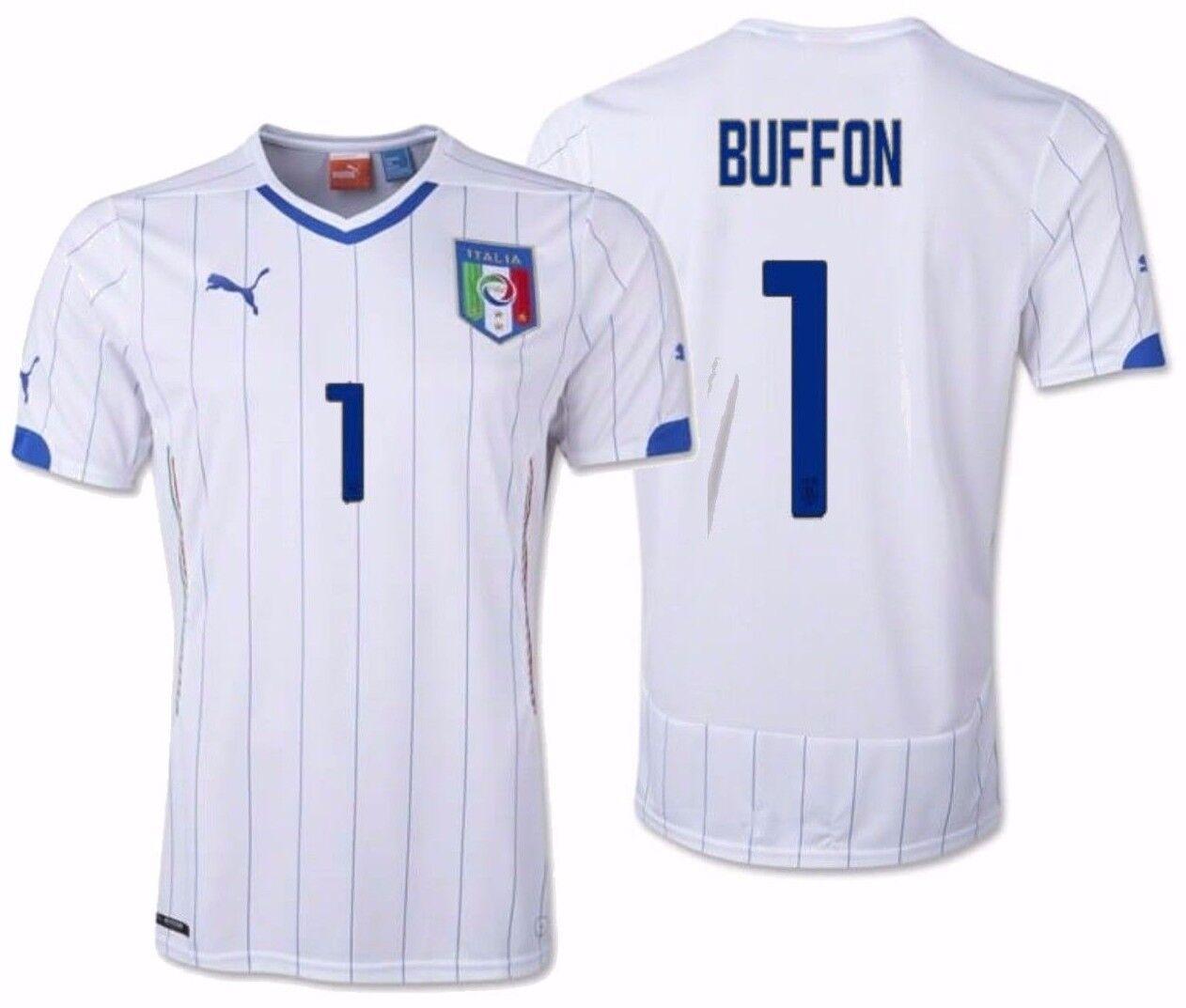 Puma Gianluigi Buffon Italia Away Jersey Fifa Copa Mundial 2014