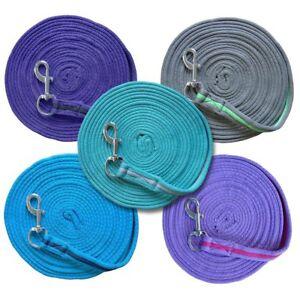 Softlonge ca. 8 Meter in verschiedenen Farben mit Handschlaufe, longieren, Longe