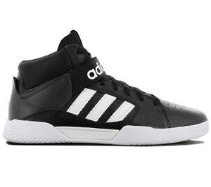 Schuhe Sneaker Skaterschuhe Adidas Schwarz Leder Herren Mid