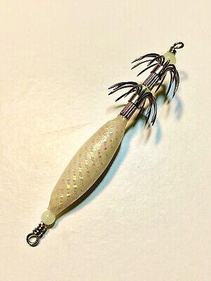 5x Puget Sound Squid Jigs 5//8 Oz