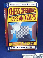 CHESS OPENINGS Traps & Zaps Bruce Pandolfini Book Fireside Chess Library