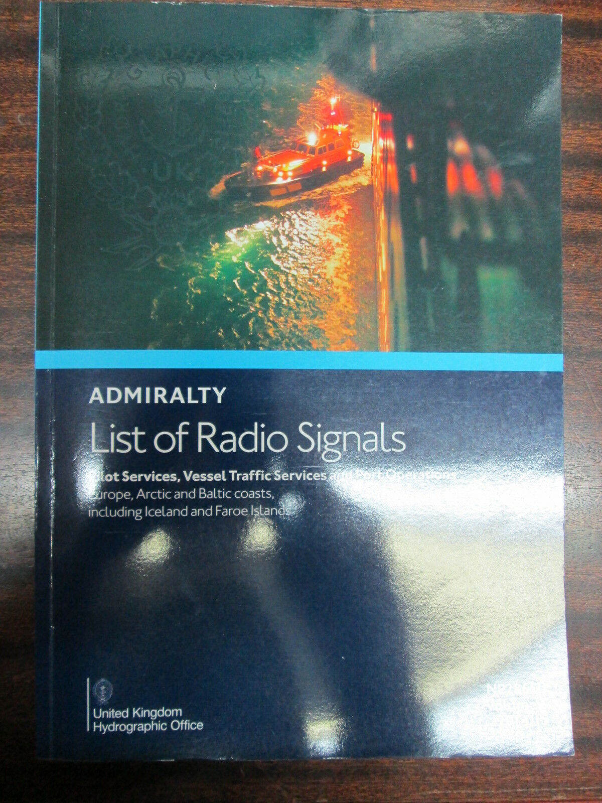Admiralty List Of Radio Signals NP286(2)  Vol 6 2014 15  Pilot Services  Europe