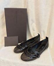 NIB RARE Louis Vuitton Monogram FLOWER FIELD FLAT BALLERINA Shoes 38, 7.5