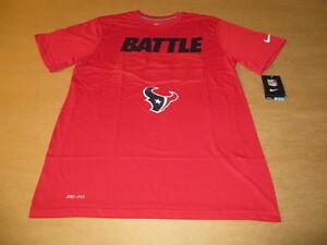 Cheap Houston Texans NFL Battle Red Men's Nike Dri Fit T Shirt New | eBay  supplier