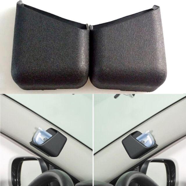 2x Black Universal Auto Car Phone Organizer Storage Bag Box Holder Accessories