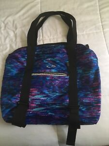 Image is loading Target-Champion-Multicolored-Blue-Purple-Yoga-Tote-Gym- 4386ccc86031f