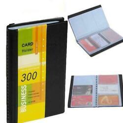 Professional Business Card Holder Organizer 300 Name Card ID Book Keeper Cr O0D3