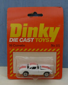 Dinky-Toys-Airfix-ownership-No-101-039-56-Corvette-2-door-Sports-Mint-Packaged