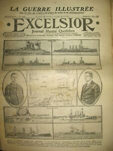 WW1-N-2028-COMBAT-NAVAL-JUTLAND-PILOTE-GILBERT-SERBES-A-BIZERTE-EXCELSIOR-1916