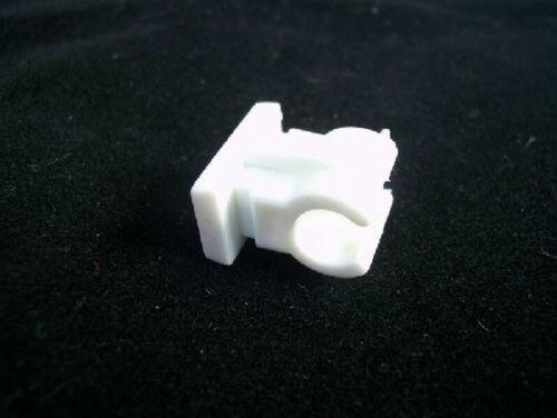 10x rohrclip Rohrschelle plastique pour oléoduc 8 mm simplement en laiton femelle m6