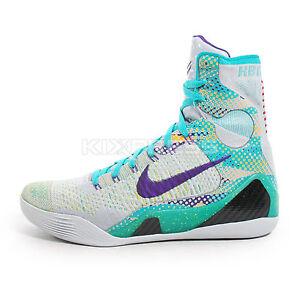 Nike Kobe IX Elite XDR [641714-005] Basketball Hero Collection Grey/Turquoise